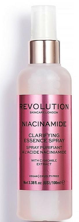 Brume pour visage - Makeup Revolution Niacinamide Clarifying Essence Spray