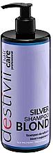 Parfums et Produits cosmétiques Shampooing anti-jaunissements - V.Laboratories Destivii Silver Shampoo Blond