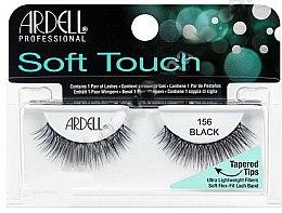 Parfums et Produits cosmétiques Faux-cils aux pointes effilées - Ardell Soft Touch Eye Lashes Black 156