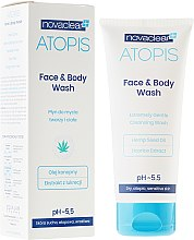 Parfums et Produits cosmétiques Nettoyant doux à l'huile de chanvre et réglisse pour visage et corps - Novaclear Atopis Face&Body Wash
