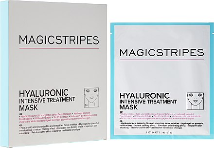 Masque hydrogel intense à l'acide hyaluronique - Magicstripes Hyaluronic Intensive Treatment Mask — Photo N3