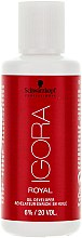 Parfums et Produits cosmétiques Révélateur enrichi en huile 6% - Schwarzkopf Professional Igora Royal Oxigenta