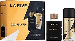 Parfums et Produits cosmétiques La Rive Mr. Sharp - Set (eau de toilette/100ml + déodorant/150ml)