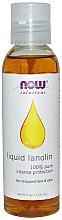 Parfums et Produits cosmétiques Lanoline liquide 100 % pure pour lèvres gercées et peau - Now Foods Solutions Liquid Lanolin