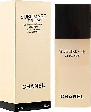 Fluide régénérant à l'huile de colza pour visage et cou - Chanel Sublimage Le Fluide Ultimate Skin Regenerating — Photo N1