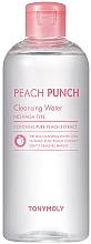 Parfums et Produits cosmétiques Eau nettoyante à l'extrait de pêche pour visage - Tony Moly Peach Punch Cleansing Water