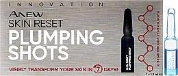 Parfums et Produits cosmétiques Sérum en ampules à l'acide hyaluronique pour visage - Avon Anew Skin Reset Plumping Shots
