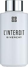 Parfums et Produits cosmétiques Givenchy L'Interdit - Huile bain et douche