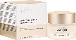 Parfums et Produits cosmétiques Crème rajeunissante aux cellules souches de rose alpine pour visage - Babor Selection Cream