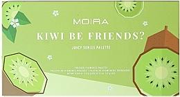Parfums et Produits cosmétiques Palette de fards à paupières - Moira Kiwi Be Friends? Pressed Pigments Palette