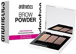 Parfums et Produits cosmétiques Palette trio poudre pour sourcils - Andmetics Brow Powder Trio