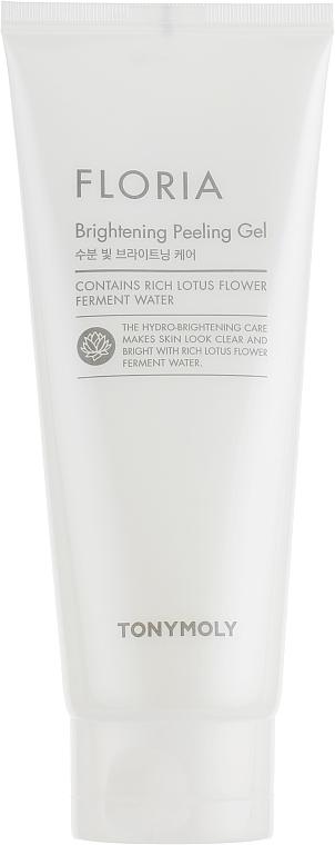 Gel exfoliant à l'eau de fleur de lotus pour visage - Tony Moly Floria Brightening Peeling Gel