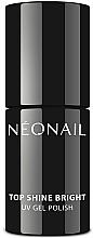 Parfums et Produits cosmétiques Top coat pour vernis semi-permanent - NeoNail Professional Top Shine Bright UV Gel Polish