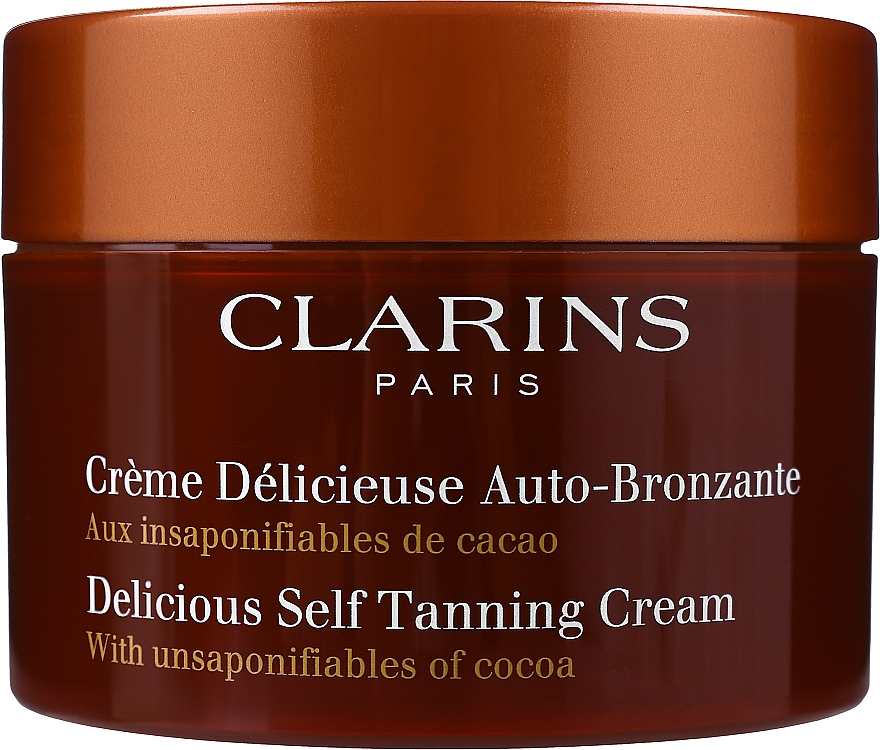 Crème délicieuse auto-bronzante - Clarins Delicious Self Tanning Cream