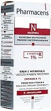 Parfums et Produits cosmétiques Crème à la vitamine K pour visage - Pharmaceris N Capinon K 1% Cream With Vitamin K