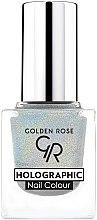 Parfums et Produits cosmétiques Vernis à ongles - Golden Rose Holographic Nail Colour