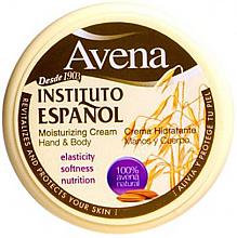 Parfums et Produits cosmétiques Crème à l'avoine pour mains et corps - Instituto Espanol Avena Moisturizing Cream Hand And Body