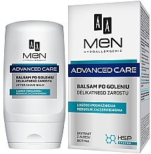 Parfums et Produits cosmétiques Baume après-rasage à la biotine - AA Men Advanced Care After Shave Balm For Delicate Facial Hair