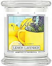 Parfums et Produits cosmétiques Bougie parfumée en jarre, Citron et Lavande - Kringle Candle Lemon Lavender