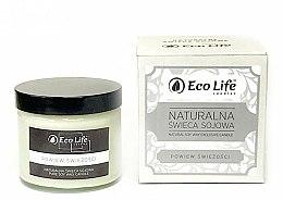 Parfums et Produits cosmétiques Bougie parfumée en cire de soja, Souffle de fraîcheur - Eco Life Candles