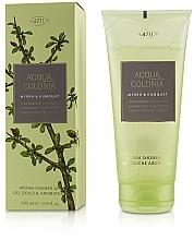 Parfums et Produits cosmétiques Maurer & Wirtz 4711 Acqua Colonia Myrrh & Kumquat - Gel douche Myrrhe et Kumquat