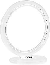 Parfums et Produits cosmétiques Miroir rond à poser double face, 12 cm, 9504, blanc - Donegal Mirror
