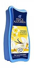 Parfums et Produits cosmétiques Désodorisant en gel - Felce Azzurra Gel Air Freshener Vanilla & Monoi