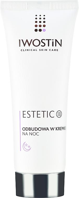 Crème de nuit à l'extrait de raisin rouge - Iwostin Estetic 3 Restorative Night Cream — Photo N2