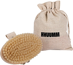 Parfums et Produits cosmétiques Brosse de massage et de bain, fibre souple, marron clair - Hhuumm № 3