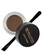 Parfums et Produits cosmétiques Pommade à sourcils avec pinceau - Makeup Revolution Brow Pomade