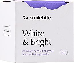 Parfums et Produits cosmétiques Poudre au charbon de noix de coco - Smilebite White & Brigh Coconut Charcoal Teeth Whitening Powder