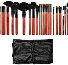 Parfums et Produits cosmétiques Tools For Beauty - Kit de 28 pinceaux à maquillage professionnel + étui