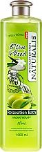 Parfums et Produits cosmétiques Huile de bain aux olives - Naturalis Olive Wood Relaxation Bath