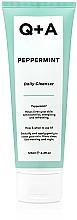 Parfums et Produits cosmétiques Nettoyant quotidien à la menthe poivrée pour visage - Q+A Peppermint Daily Cleanser