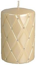 Parfums et Produits cosmétiques Bougie décorative 7x10 cm, crème - Artman Florence Candle