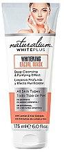 Parfums et Produits cosmétiques Masque blanchissant à effet nettoyant pour visage - Naturalium White Plus Whitening Facial Mask