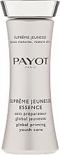 Parfums et Produits cosmétiques Soin préparateur global jeunesse - Payot Supreme Jeunesse Essence