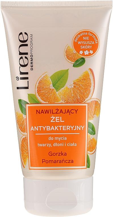 Gel antibactérien pour visage,mains et corps, Orange amère - Lirene — Photo N1