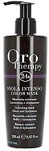 Parfums et Produits cosmétiques Masque colorant à la kératine pour cheveux, violet intense - Fanola Oro Therapy Viola Intenso Color Mask