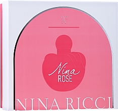 Parfums et Produits cosmétiques Nina Ricci Nina Rose - Set (edt/80ml + b/lot/100ml)