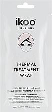 Parfums et Produits cosmétiques Masque-bonnet réparateur à l'huile de lavande pour cheveux - Ikoo Infusions Thermal Treatment Wrap