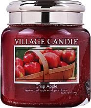 Parfums et Produits cosmétiques Bougie parfumée en jarre, Pomme croustillante - Village Candle Crisp Apple