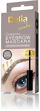 Mascara crémeux pour sourcils - Delia Creamy Eyebrow Mascara