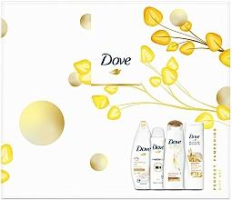 Parfums et Produits cosmétiques Dove Perfect Pampering Gift Set - Set cadeau (gel douche/250ml + lotion/250ml + shampooing/250/ml + déodorant/150ml)