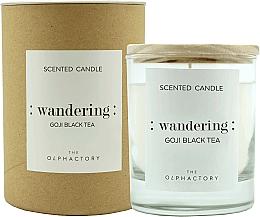 Parfums et Produits cosmétiques Bougie parfumée, Thé noir de goji - Ambientair The Olphactory Wandering Goji Black Tea