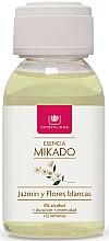 Parfums et Produits cosmétiques Recharge pour diffuseur de parfum, Jasmin et fleurs blanches - Cristalinas Reed Diffuser Refill