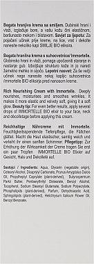 Crème à l'immortelle pour visage - Nikel Rich Nourishing Cream with Immortelle — Photo N3