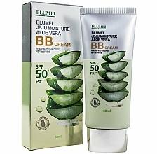 Parfums et Produits cosmétiques BB crème à l'extrait d'aloe vera, SPF 50 - Blumei Jeju Moisture Aloe Vera BB Cream