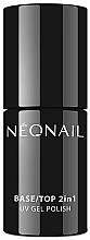 Parfums et Produits cosmétiques Base et top coat pour vernis semi-permanent - NeoNail Professional Base/Top 2in1 UV Gel Polish