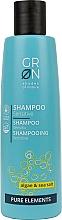 Parfums et Produits cosmétiques Shampooing Algues et sel de mer - GRN Pure Elements Sensitive Algae & Sea Salt Shampoo
